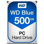 "Western Digital WD Blue WD5000AZLX - Disco rígido - 500 GB - interna - 3.5"" - SATA 6Gb/s - 7200 rpm - buffer: 32 MB"