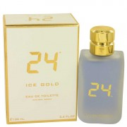 Scentstory 24 Ice Gold Eau De Toilette Spray 3.4 oz / 100.55 mL Men's Fragrances 535252