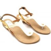 Oh Feet! Women White Sandals