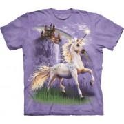 Spiru T-Shirt Mountain Artwear Unicorn Castle L