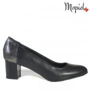 Pantofi dama din piele naturala 24703/Negru/Rona