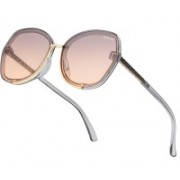 ROYAL SON Over-sized Sunglasses(Pink)