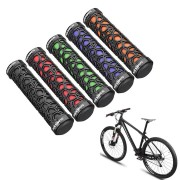 RockBros Bike Bicycle Cycling Non-slip Handlebar Rubber Grips Double Lock-on
