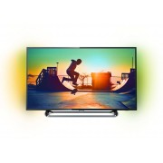 Televizor LED Philips 55PUS6262/12, 139 cm, Smart, Ultra HD 4K, Negru