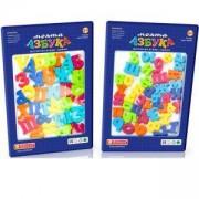 Детски комплект - Магнитни букви и цифри - 2 налични модела, 510028