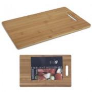 Snijplank hout bamboe 36x23 cm