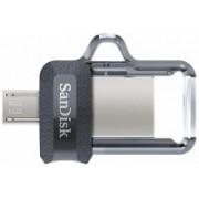 SanDisk SDDD3-032G-I35 32 GB OTG Drive(Black, Type A to Micro USB)