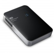 WD My Passport Wireless WDBK8Z0010BBK-NESN 1 TB External Network Hard Drive - Wireless LAN - USB 3.0 - 256 MB Buffer - Portable - Black