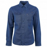 United By Blue - L/S River Denim Work Shirt - Chemise taille XL, bleu