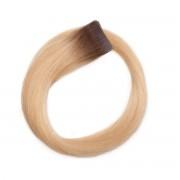 Rapunzel® Extensions Naturali Quick & Easy Original Liscio R7.5/8.3 Ash Brown Honey Blonde 50 cm