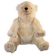 MerryMakers On The Night You Were Born Polar Bear Plush Doll 10-Inch