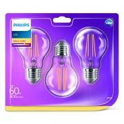 Philips LED E27 lampen 3 stuks