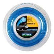 Corda Yonex PolyTour Spin 16L 1.25mm Azul Rolo com 200 Metros - Unissex