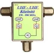 UHF-UHF közösitö F-F-F fém OI