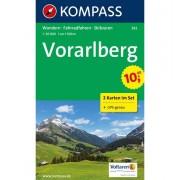 Kompass Carta N.292: Vorarlberg 1:50.000