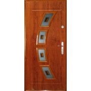 Drzwi stalowe z przeszkleniem FLORYDA II