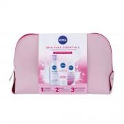 Nivea MicellAIR® подаръчен комплект мицеларна вода 200 ml + почистващ крем Gentle Cleansing 150 ml + дневна грижа за лице SPF15 Nourishing Day 50 ml W