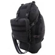 Plecak taktyczny Overload Backpack CAMO Military Gear 60L Czarny