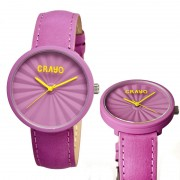 Crayo Cr1508 Pleats Unisex Watch