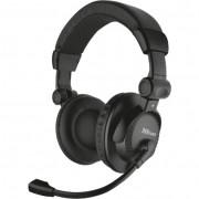 Trust 21658 Como fejhallgatós headset - fekete