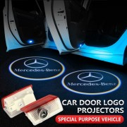 Lumini de usi LED Logo Mercedes proiectoare dedicate