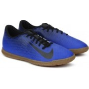 Nike BRAVATAX II (IC) INDOOR-COMPETITION Football Shoes For Men(Blue)