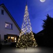 HEMSSON Fairybell® árbol de Navidad, 6m 1200 LEDs, titileo