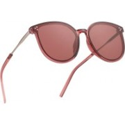 Royal Son Cat-eye, Over-sized Sunglasses(Pink)