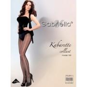 Gabriella - Elegant striped fishnet tights Kabarette 150