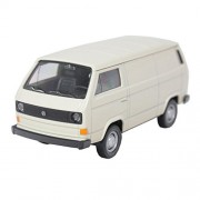 Welly 1:34-1:39 Die-Cast Volkswagen T3 Van Milk White Model Collection
