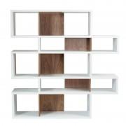 Tema Home Moderne vakkenkast wit