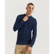 Tommy Hilfiger Mouline Ricecorn Sweater Blå