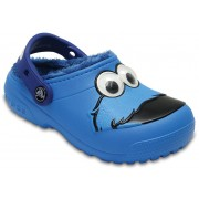Crocs Fun Lab Fuzz Lined Cookie Monster Clog