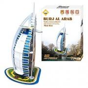 Carboard Jigsaw Model 3D Puzzle Burj Al Arab DIY Toy