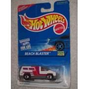 #528 Beach Blaster India On Base Condition Mattel Hot Wheels