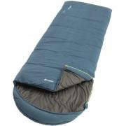 Outwell Campion Lux Sovsäck blå Right Zipper 2019 Sovsäck