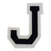 Bokstaven J - 5 cm Strykmärke