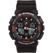 Casio GA-100-1A4ER horloge heren - zwart - kunststof