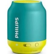 Boxa portabila Bluetooth Philips BT50 Galben Albastra