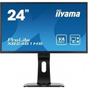 "IIYAMA ProLite XB2481HS-B1 - LED-monitor - 24"" (23.6"" zichtbaar) - 1920 x 1080 Full HD (1080p) @ 60 Hz - VA - 250 cd/m² - 3000:1"