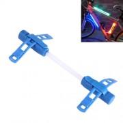 Bicycle Glo-sticks Light Strip Lamp Safety Warning LED Light Side Light with Lighting / Fast Flashing / Slow Flashing Modes(Blue)