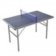HOMCOM Tavolo da Ping Pong Professionale con Racchette, 125x75x75cm