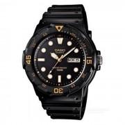 CASIO MRW-200H-1EVDF reloj analogo de resina - negro (sin caja)