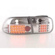 FK-Automotive LED Feux arrieres pour Honda Civic 2/4-portes (type EG4/EG8) An 92-95, clair