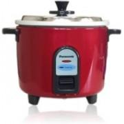 Panasonic SR-WA10(Z9) Electric Rice Cooker(1 L, Burgandy)