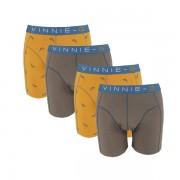 Vinnie-G boxershorts Wakeboard Grey Print 4-pack-XXL