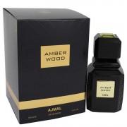 Ajmal Amber Wood Eau De Parfum Spray (Unisex) 3.4 oz / 100.55 mL Men's Fragrances 542002
