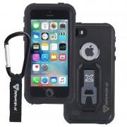 iPhone 5/5S/SE Armor-X Ultimate Waterproof Case - Black