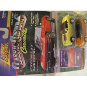 Johnny Lightning Classic Customs Corvette: 1967 Corvette Coupe & Corvette Sting Ray III