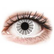 Vision ColourVUE Crazy Lens - Spider - sin graduación (2 lentillas)